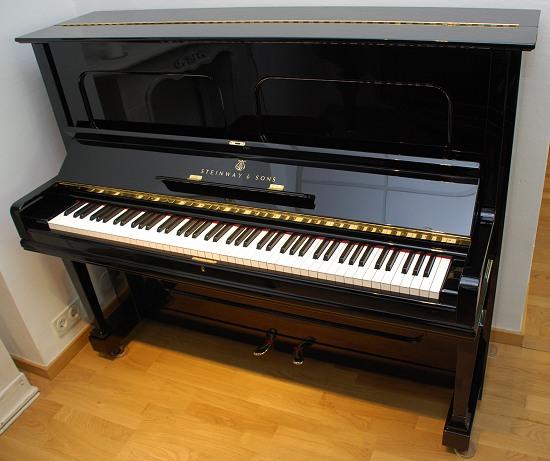 das steinway klavier modell v 125 von goecke und farenholtz klaviere fl gel cembali berlin. Black Bedroom Furniture Sets. Home Design Ideas