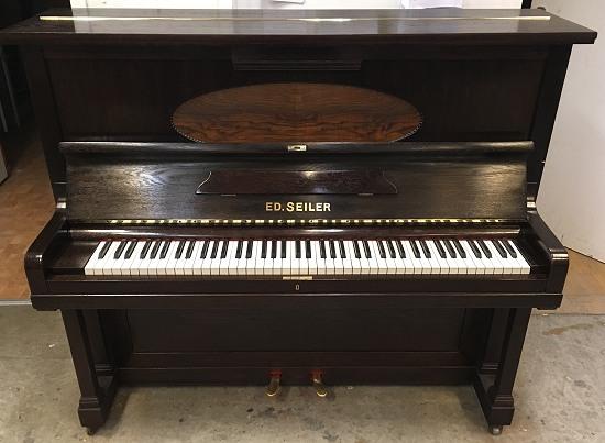 das seiler klavier modell 128 gebraucht kaufen von goecke und farenholtz klaviere fl gel cembali. Black Bedroom Furniture Sets. Home Design Ideas
